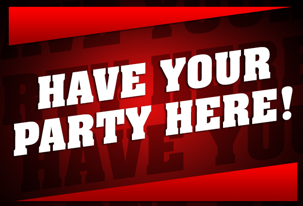 HAVE YOUR PARTY HERE! Sweet 16s, Mitzvahs, Trade Shows, Birthdays, & More!