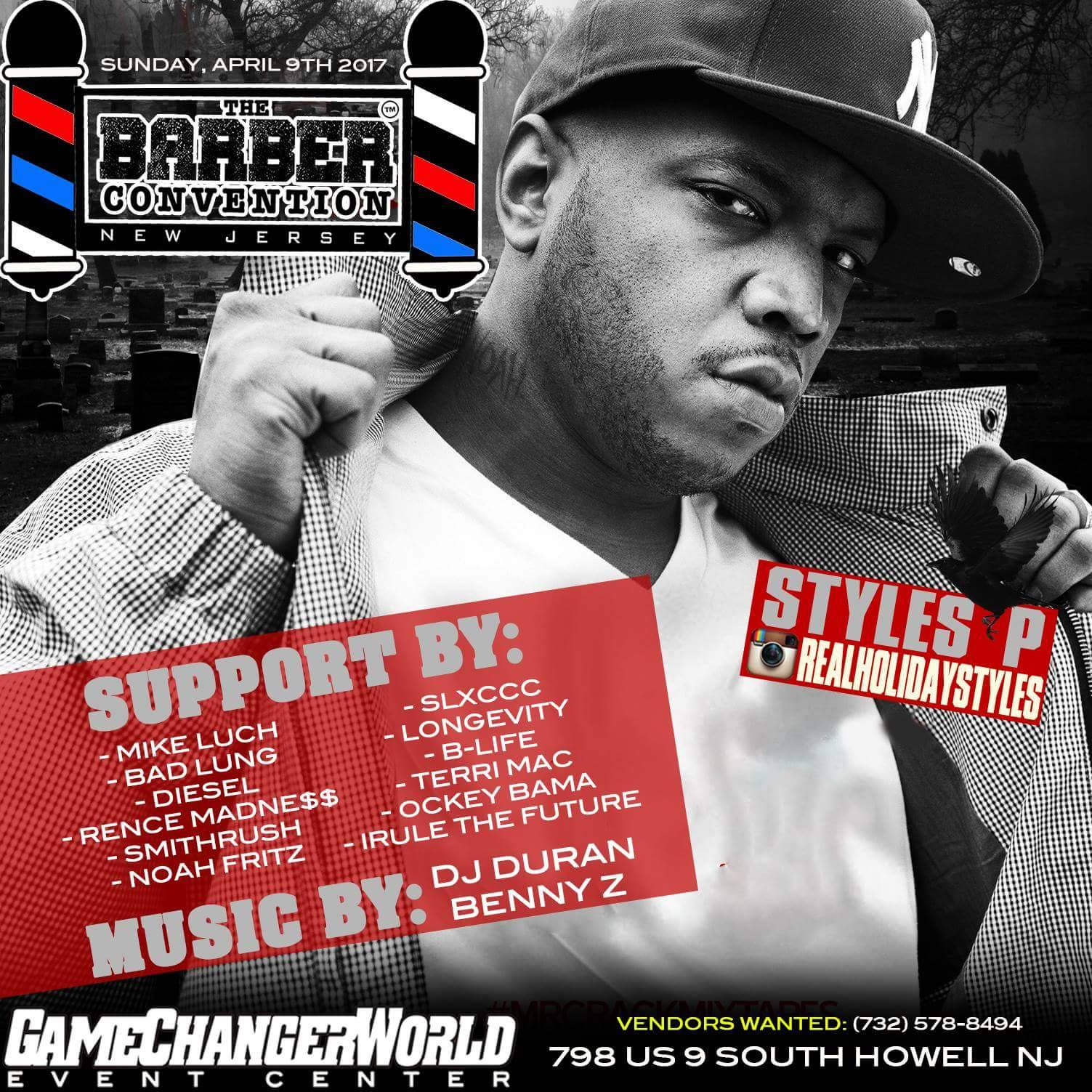 Styles P Performing Live @ The Barber Convention