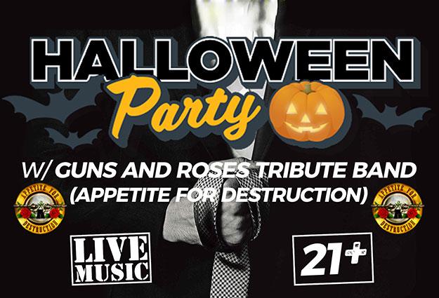 Wickedween: Appetite for Destruction - Guns N Roses Tribute