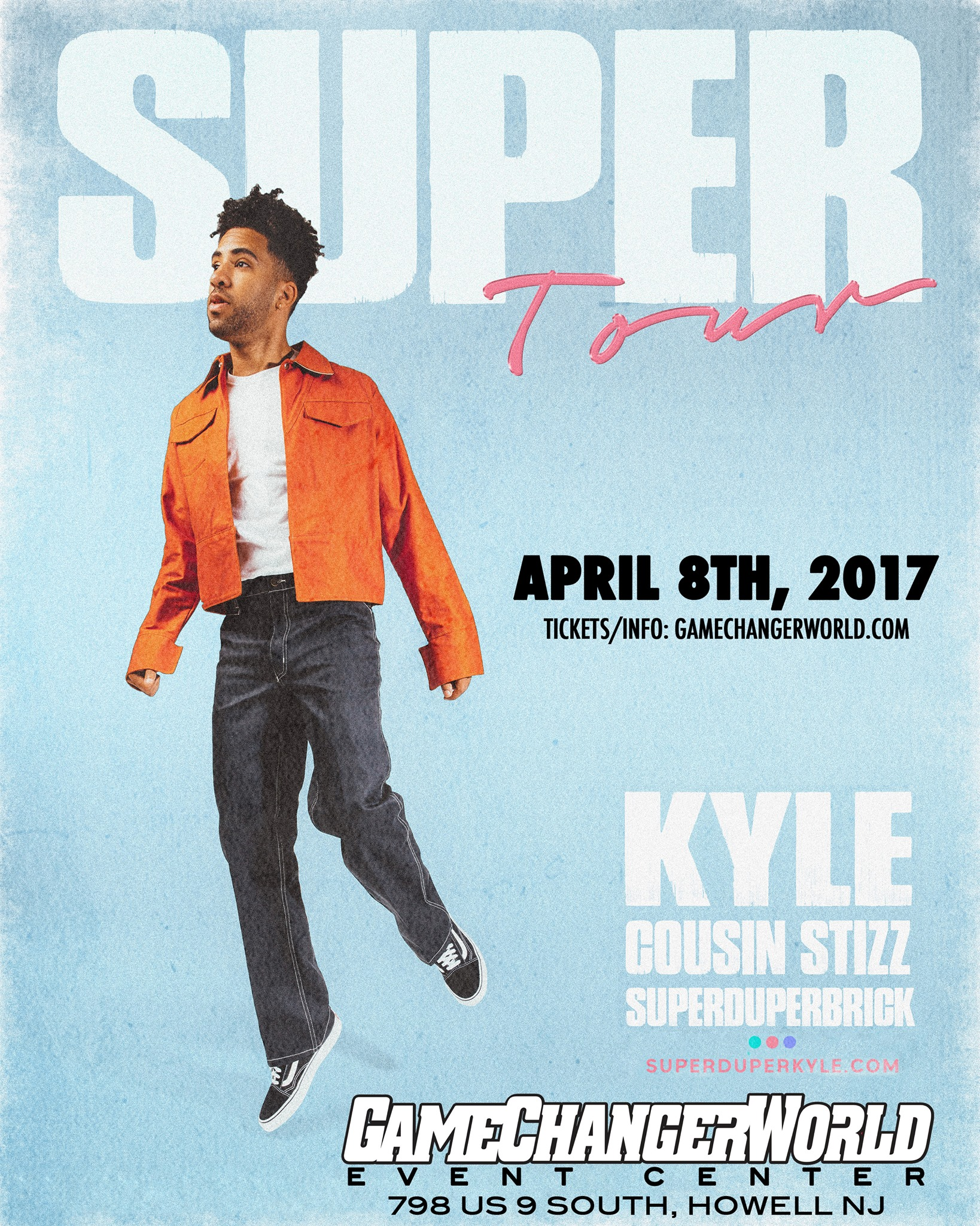 SUPER Tour KYLE + Cousin Stizz