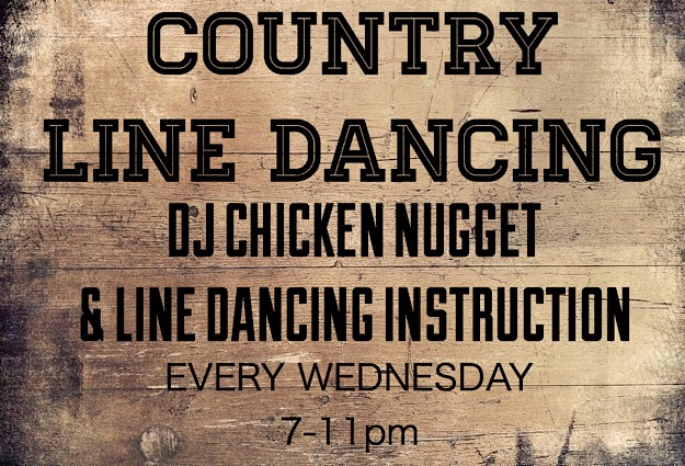 LINE DANCING WITH DJ CHICKEN NUGGET