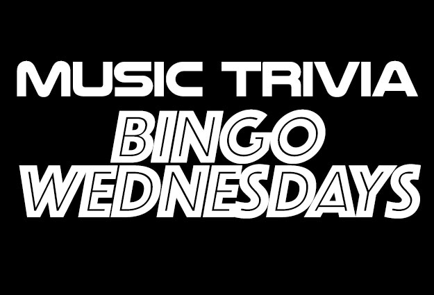 MUSIC TRIVIA BINGO Wednesday