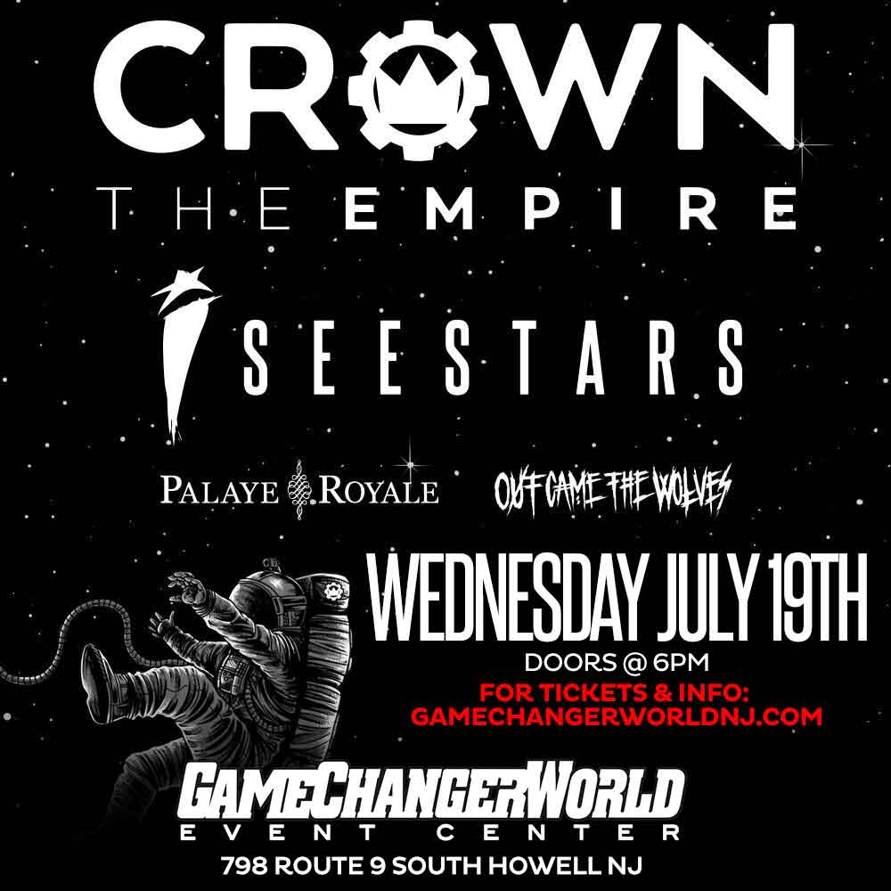 Crown the Empire w/ I See Stars - Palaye Royale - Out Came The Wolves