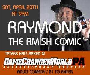 RAYMOND THE AMISH COMIC