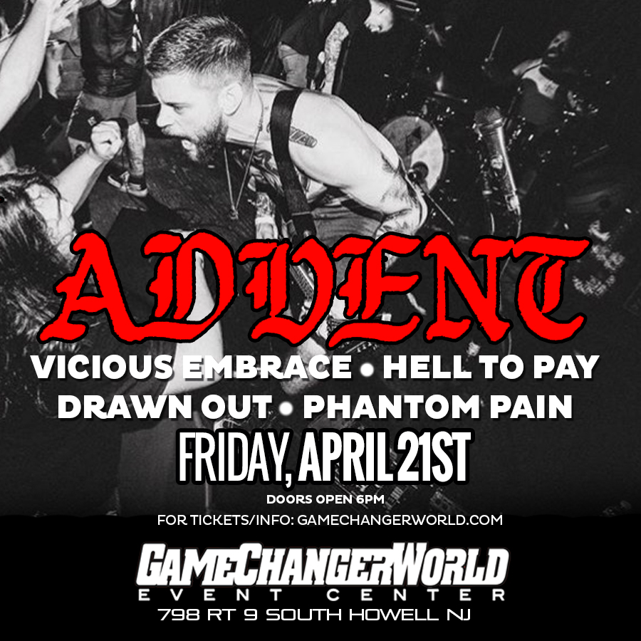 Advent / Vicious Embrace / Hell To Pay at GameChangerWorld