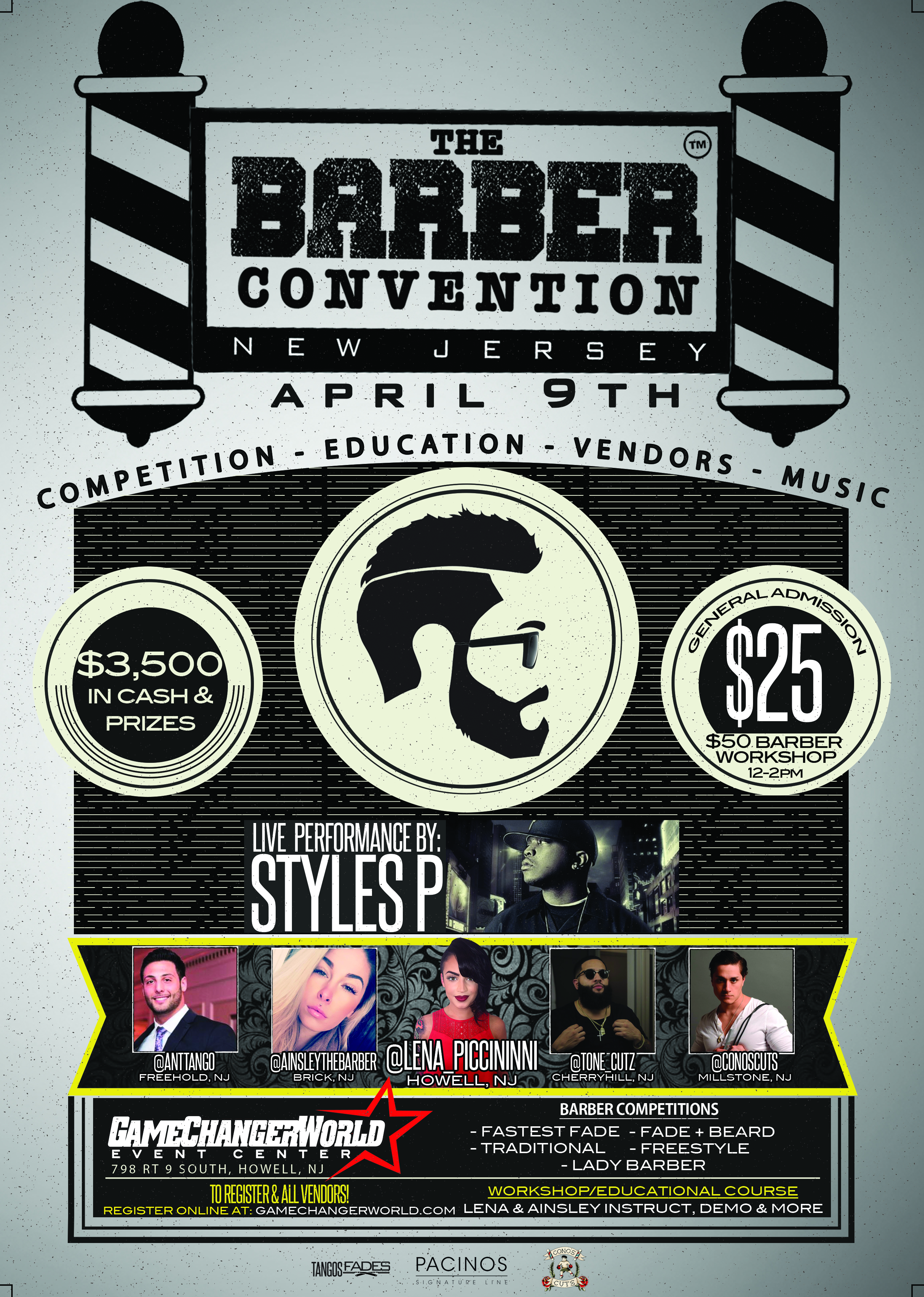 The Barber Convention (Vendors & Contests)