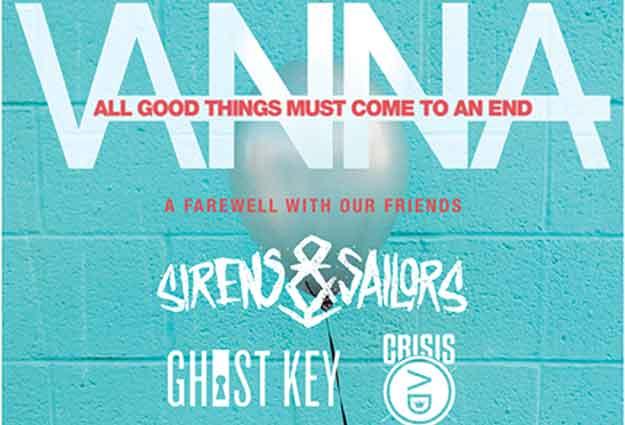 Vanna w/ Sirens & Sailors - Ghost Key - Crisis AD