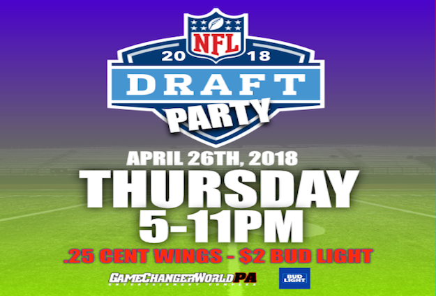 2018 NFL Draft Party