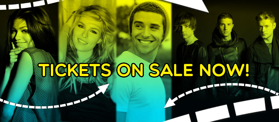 Zendaya, Bridgit Mendler, Jake Miller, Hot Chelle Rae & many, many more!