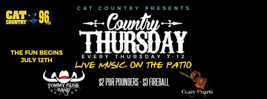 COUNTRY THURSDAY