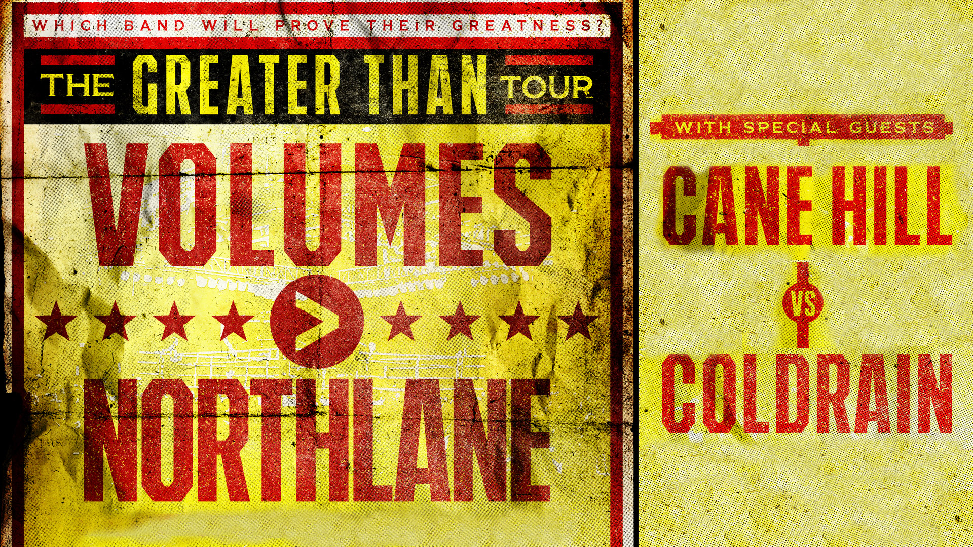 Volumes - Northlane - Cane Hill - Cold Rain